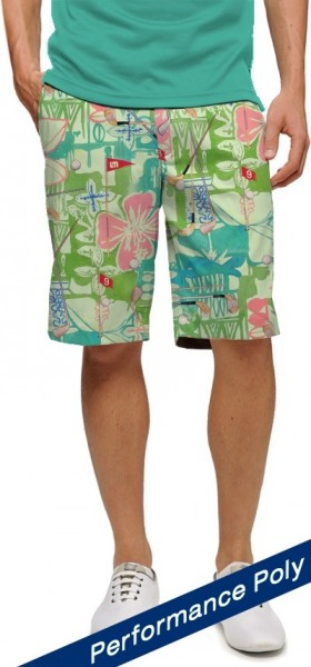 "Loudmouth Men's Golf Short ""baffing spoon StretchTech"""
