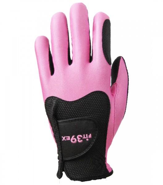Handschuh Fit 39 Pink/Schwarz