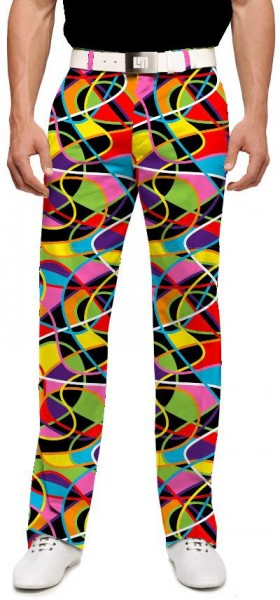 "Loudmouth Men's Golf Trousers ""Scribblz Redux"""""