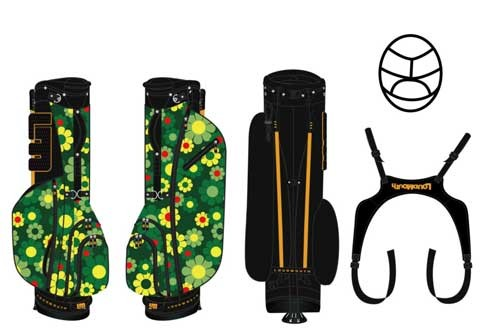 Loudmouth Stand Bag-Augusta Magic