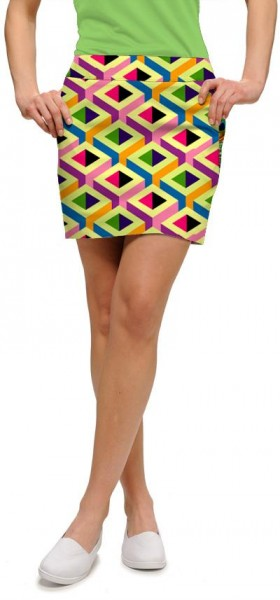 "Loudmouth Skort ""Block Party"""