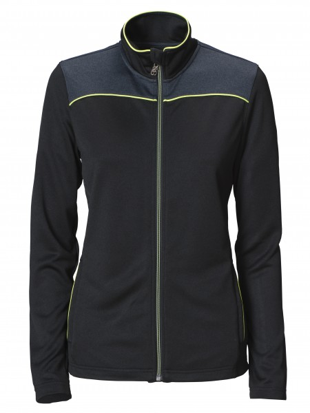Winthorp Damen Performance Full Zip Black