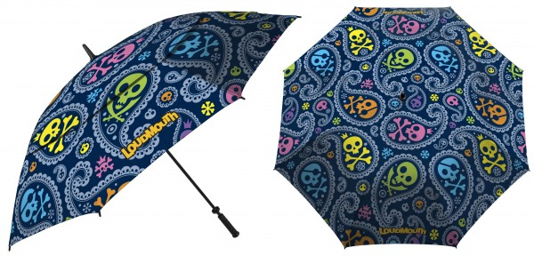 Loudmouth UV+ Umbrella-Jolly Roger