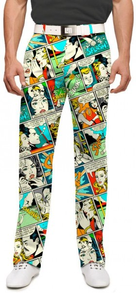 "Loudmouth Men's Golf Trousers ""Shank!"""