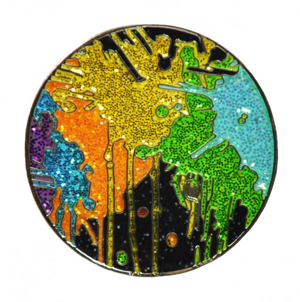 LM Glitzy Ballmarker by NAVIKA with Clip Paint Ball