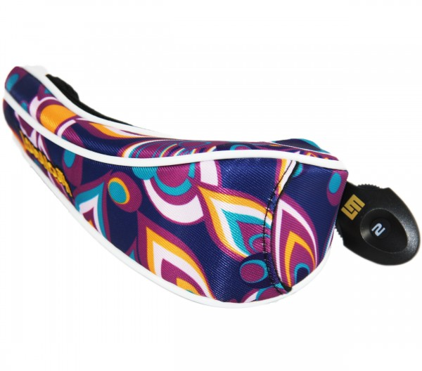 "PE Loudmouth Utility Headcover ""Shagadelic Purple"" Design"