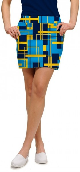 "Loudmouth Skort ""Power Grid StretchTech"""
