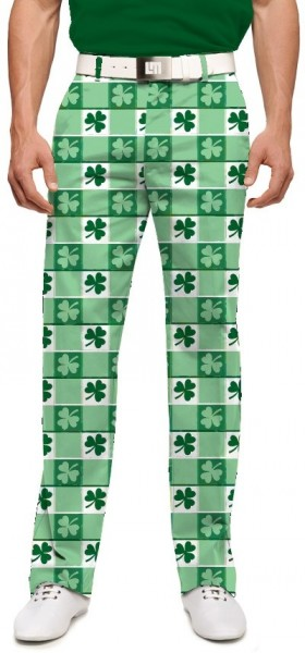 """Loudmouth Men's Golf Trousers """" Corned Beef StretchTech"""""""