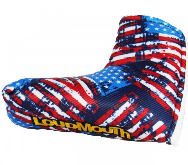 "Loudmouth Blade Putter Cover ""Antique Flag"""