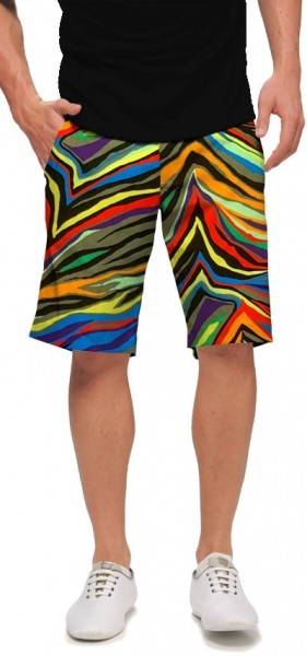 "Loudmouth Men's Golf Short ""Jungle Bogey StretchTech"""