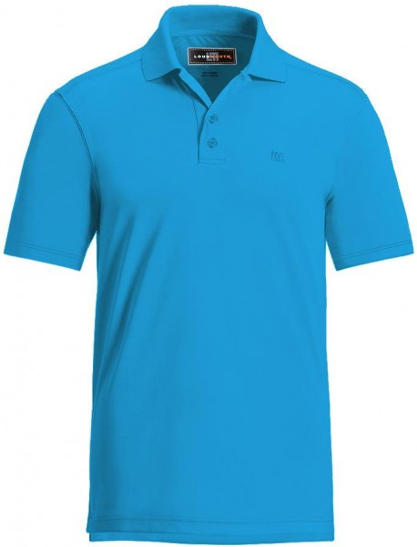 "Loudmouth Herren Polo ""Powder Blue"""