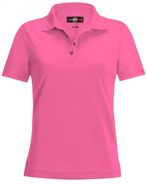"Loudmouth Damen Polo ""Carmine Rose"""