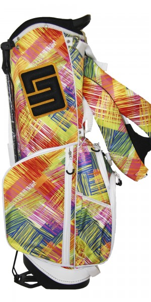 NEW Loudmouth 8.5 inch Stand Bag Scratch Yellow