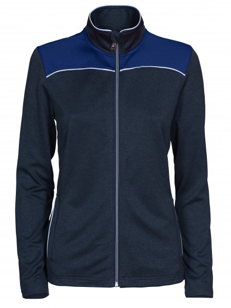 Winthorp Damen Performance Full Zip Navy-Melange