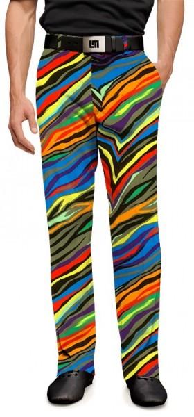 "Loudmouth Men's Golf Pants ""Jungle Bogey StretchTech"""