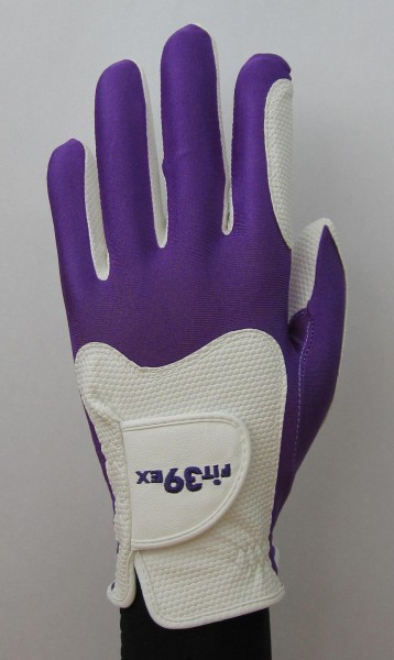 Golf Glove Fit 39 Purple/White