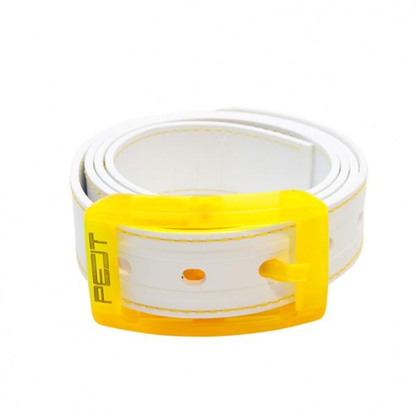 PELT Stitch Neon Yellow/White