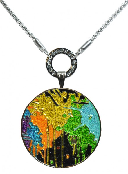 LM Glitzy Ballmarker by NAVIKA with necklace Paint Ball