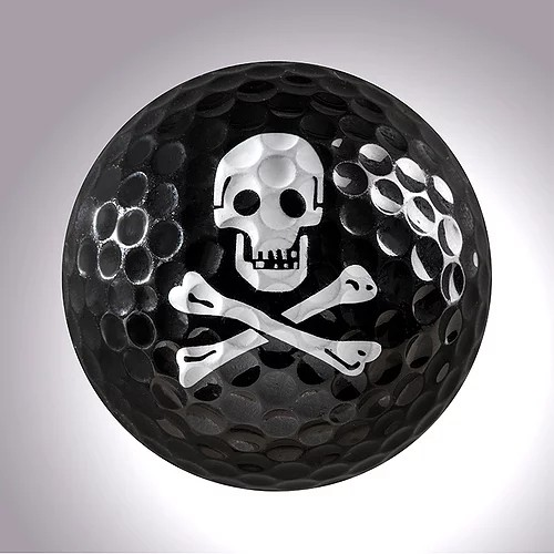 "magball-magnetic Deco-Golf Ball ""Skull"""