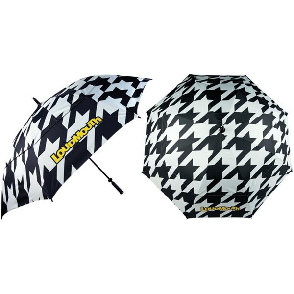 Loudmouth Regenschirm-Houndsthooth
