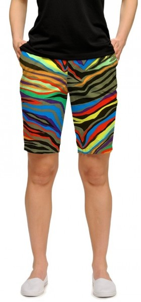 "Loudmouth Woman Short ""Jungle Bogey StretchTech"""