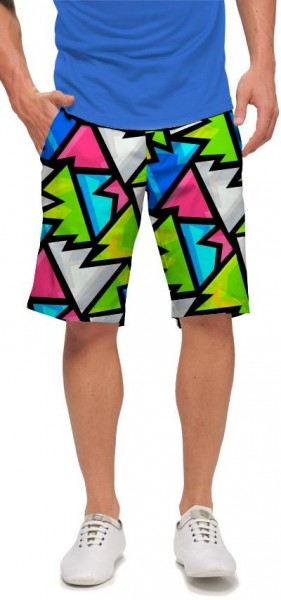 "Loudmouth Men's Golf Short ""Crystal"""