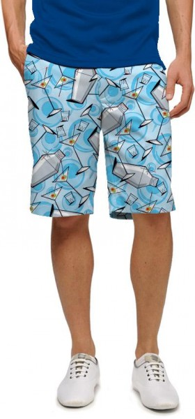 "Loudmouth Men's Golf Short ""Partini"""