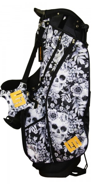NEW Loudmouth Stand Bag-Skull Garden-