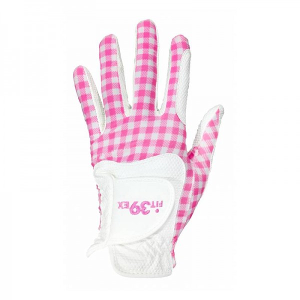 Golf glove Fit 39 Chess Pink/White