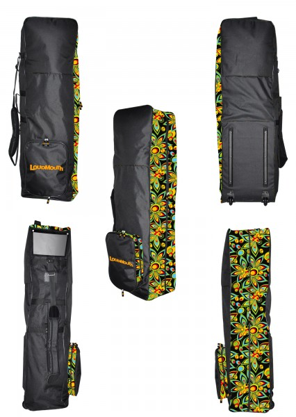 Loudmouth Travel Bag-Black Shagadelic  6874617f156a