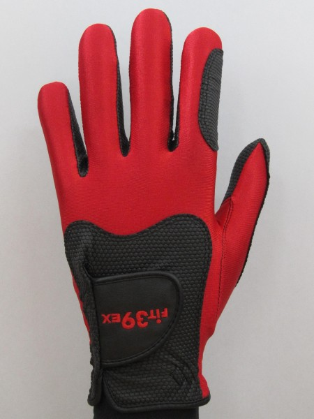 Golf Glove Fit 39 Red/Black