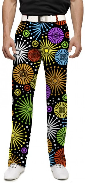 "Loudmouth Men's Golf Trousers ""Ferris Wheels"""