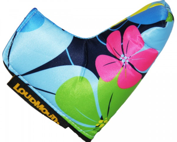"Loudmouth Blade Putter Cover ""Wildflower"""