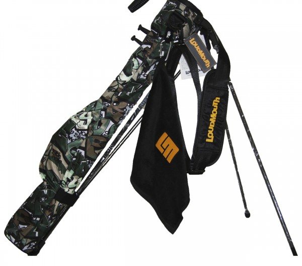 NEW Loudmouth Speed Golf Bag-Tags Camo-