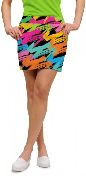 "Loudmouth Skort ""Broad Strokes StretchTech"""