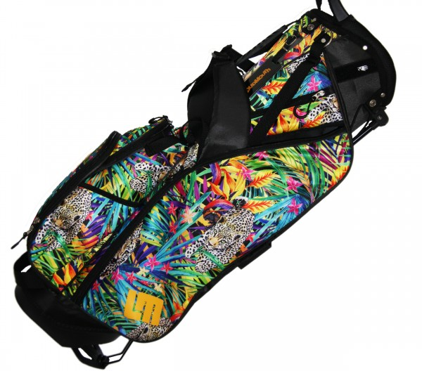 """NEW Loudmouth 8.5 inch Stand Bag """"Safari"""""""
