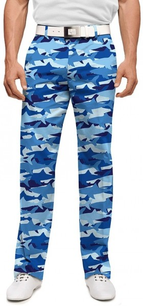 "Loudmouth Herren-Hose lang ""Sharkamo Stretch Tech"""