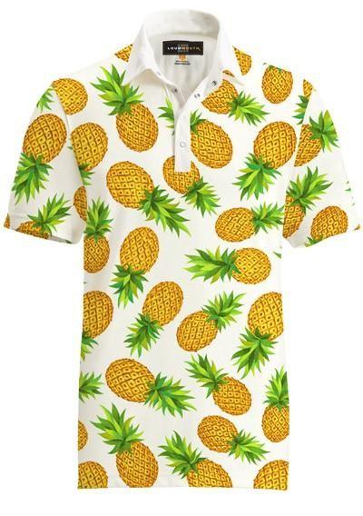 "Loudmouth Fancy Men's Shirt ""Pina Colada"""