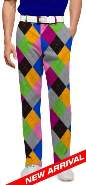 "Loudmouth Men's Golf Trousers ""Pargyle"""