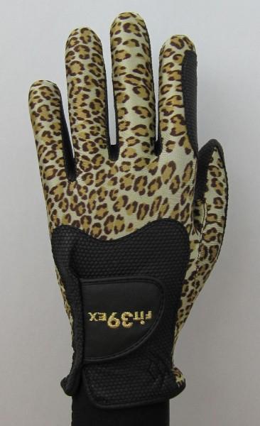 Golf Glove Fit 39 Leopard/Black