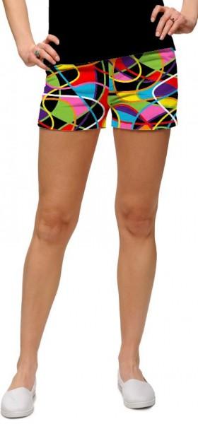 """Loudmouth Woman Mini-Shorts """"Scribblz Redux"""""""