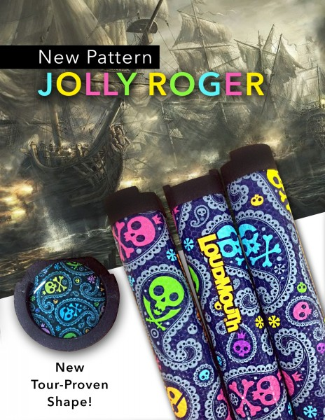Loudmouth RD 3 Putter Grip Jolly Roger