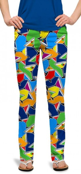 "Loudmouth Damen-Hose, lang ""Cocktail Party"""
