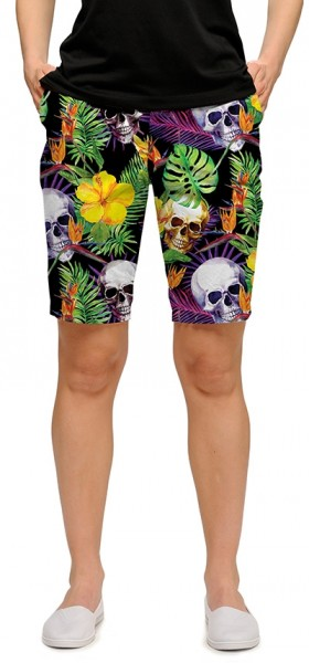 """Loudmouth Woman Short """"Skull Grotto StretchTech"""""""