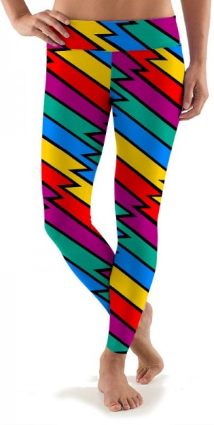 "Loudmouth Damen Sport Leggings ""Captain Thunderbolt"""