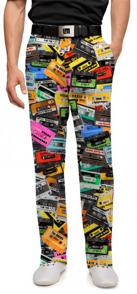 "Loudmouth Men's Golf Trousers ""Party Mix"""