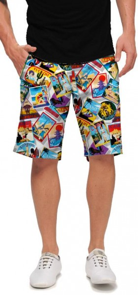 "Loudmouth Herren Short ""Postcards from the Wedge"""