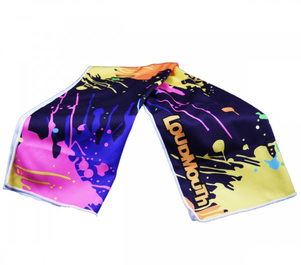 "Loudmouth Cooling Towel ""Blasterpiece"""