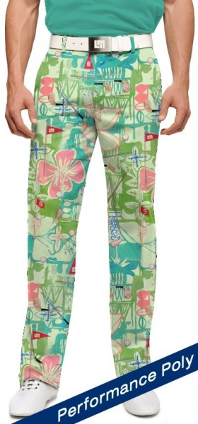 "Loudmouth Herren-Hose lang ""Baffing Spoon Stretch Tech"""