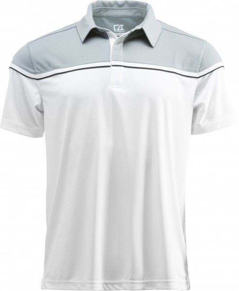 Sunset Polo Herren Light Grey